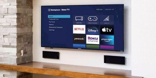 Westinghouse 65″ LED 4K Smart Roku TV Only $399.99 Shipped on BestBuy.com (Regularly $600)
