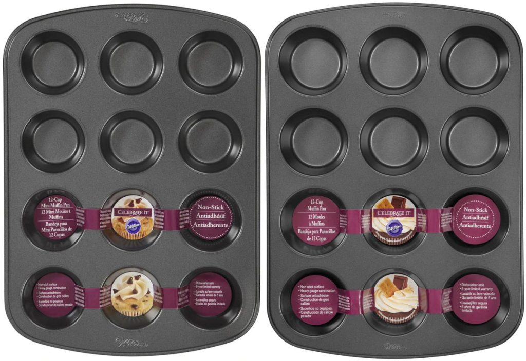 two muffin tins