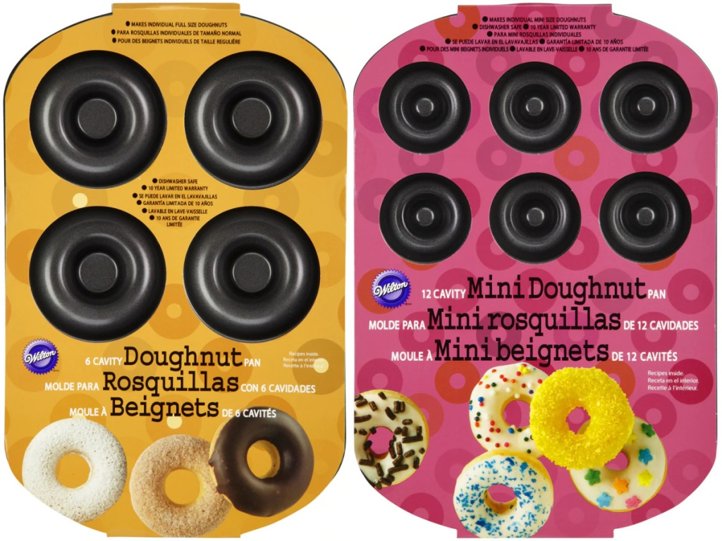 two donut pans