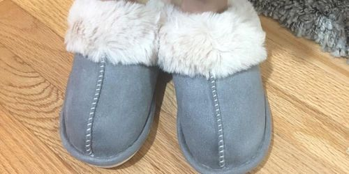 Women's Memory Foam Slippers Only $13.79 on Amazon | Gift Idea for Mom