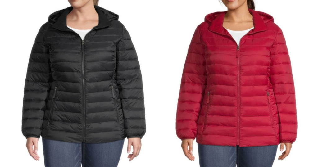Women's Plus Puffer Coats JCPenney
