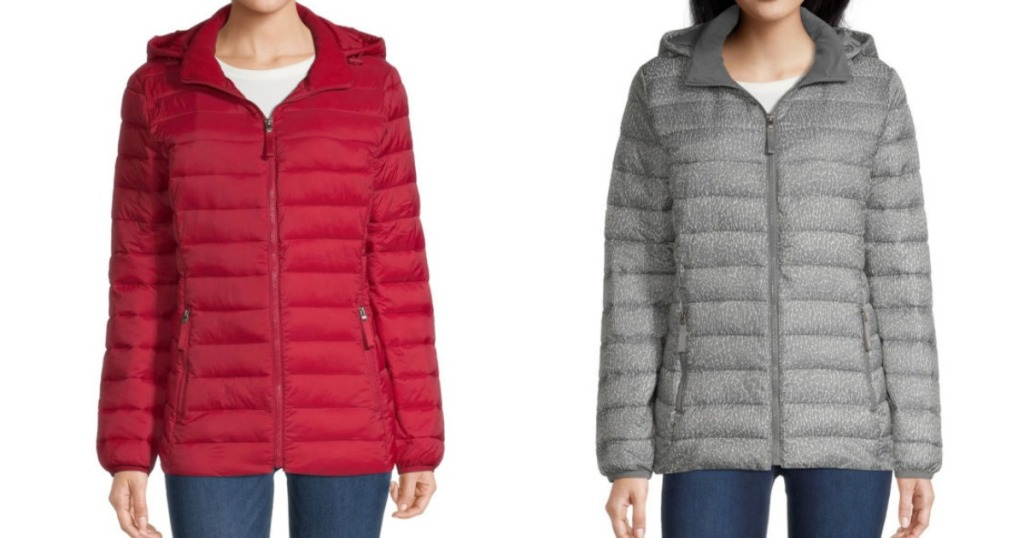 Women's Puffer Coats from JCPenney