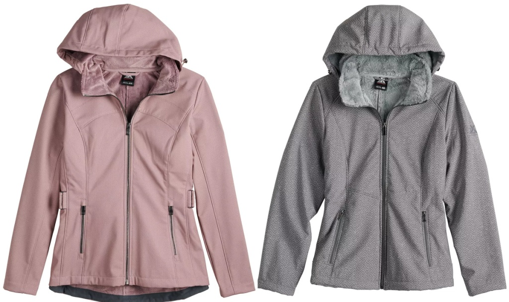 Women's ZeroXposur Britney Hooded Soft-Shell and plush Jacket