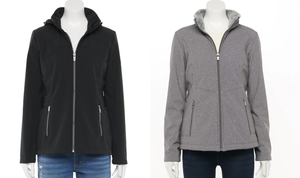 Women's ZeroXposur Britney Hooded Soft-Shell and plush Jackets