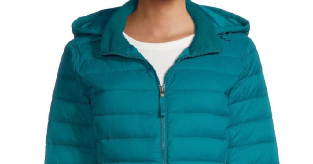 Women's st john's bay puffer coat