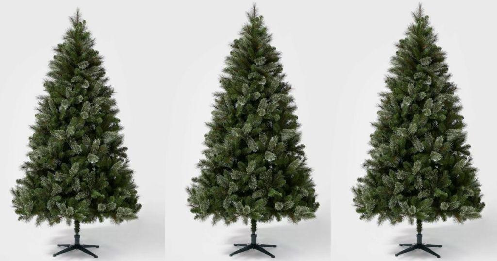 3 wondershop 7.5-ft. artificial trees