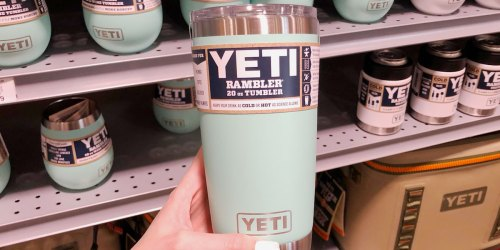 YETI Tumbler Just $22.49 on Dicks Sporting Goods + More Hot Deals