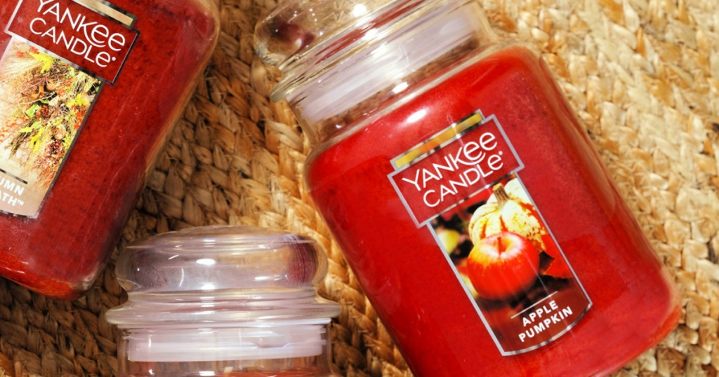 Yankee Candle Large Jar Candle Apple Pumpkin