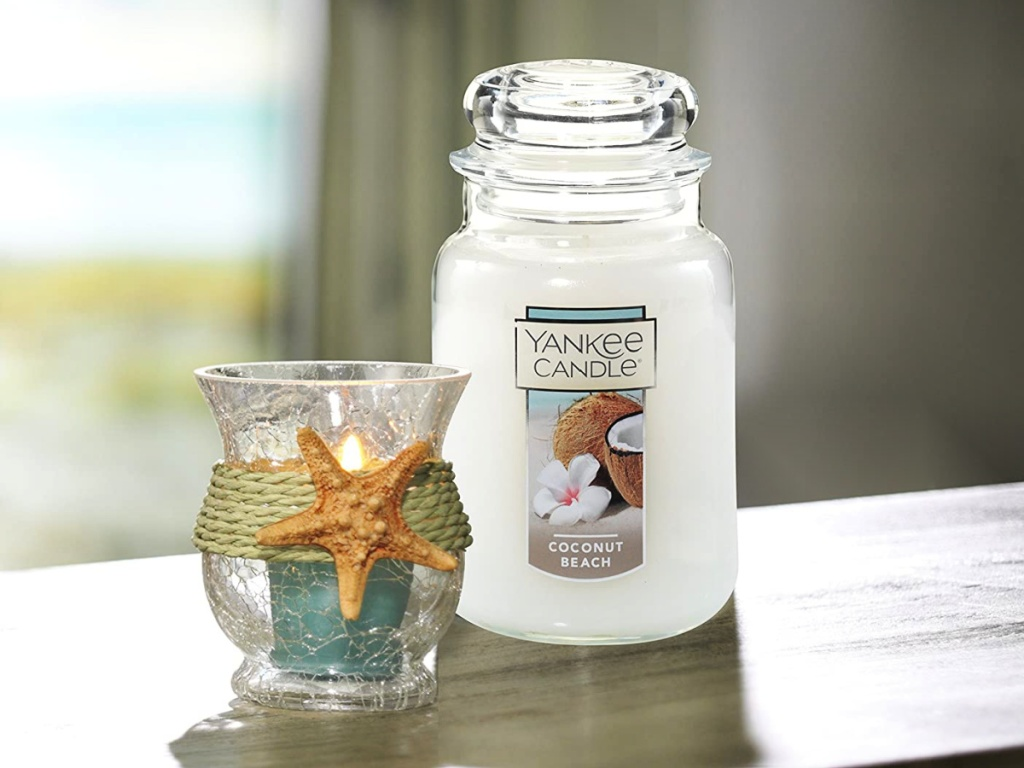 Yankee Candle Large Jar Candle Coconut Beach