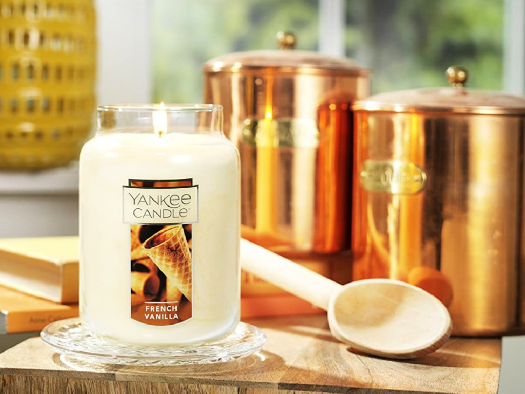 Yankee Candle Large Jar Candle French Vanilla