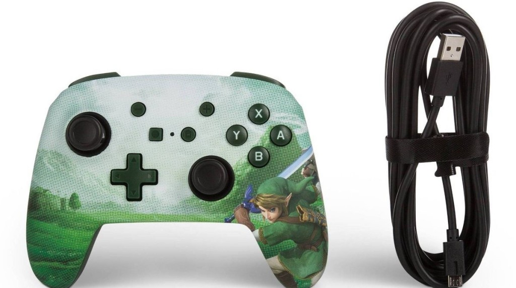 video game controller and cord