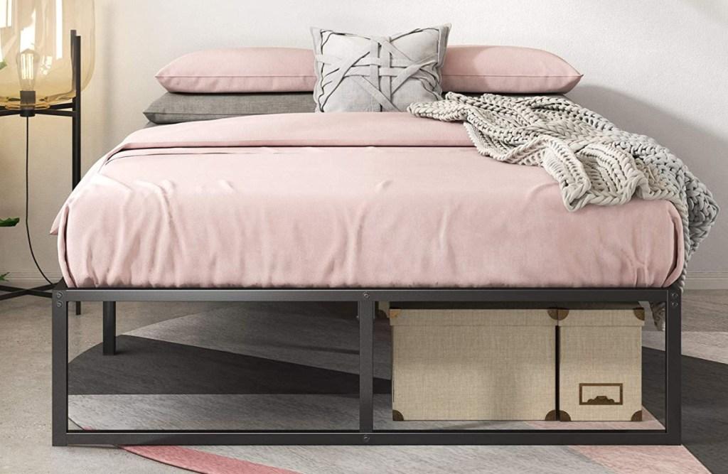 Zinus Lorelai 14 Inch Metal Platform Bed Frame