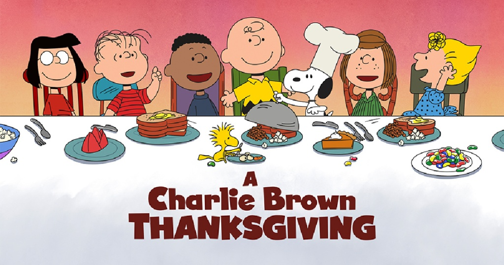 a charlie brown thanksgiving illustration