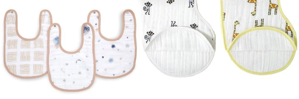 aden baby bibs and burp cloths