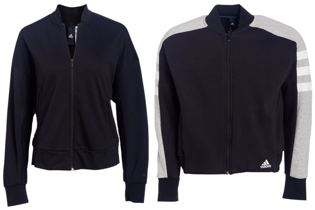 adidas black jackets bomber jackets