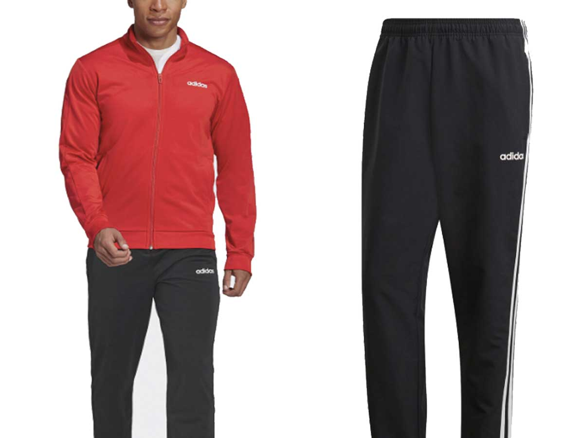 men's track suit and sweats