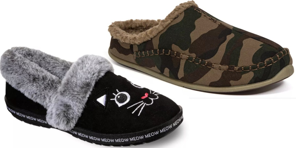 adult slippers bobs and deer stagz