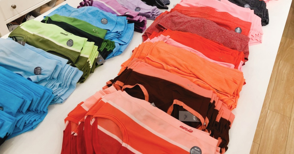 aerie womens underweari in store