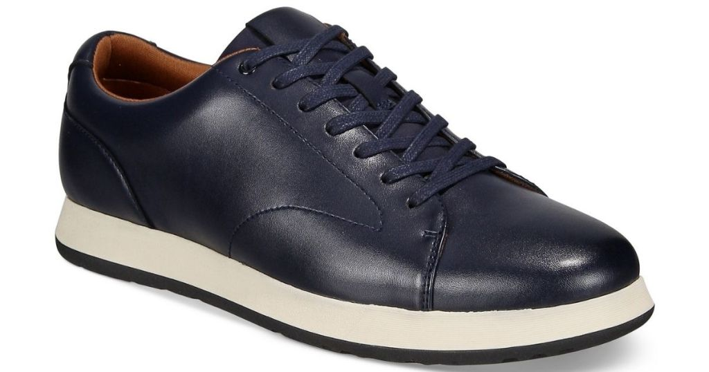 navy lace up mens shoes