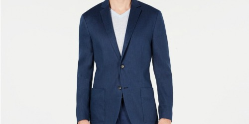 Men's Sport Coats Only $22.96 on Macys.com (Regularly $139) | Up to 80% Off Tees, Pants & More