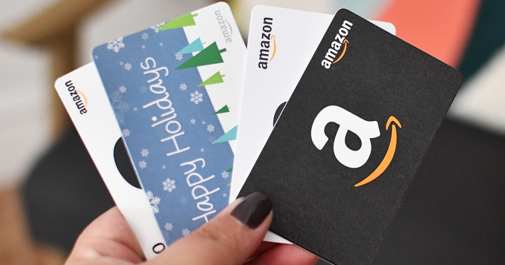 amazon gift card stack