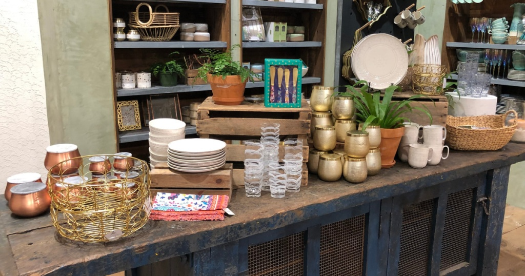 anthropologie kitchen goods in store
