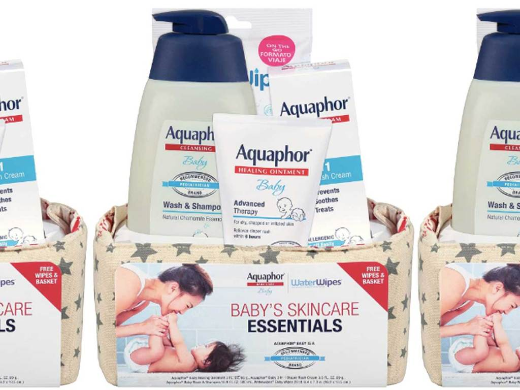 baby skincare essentials gift set