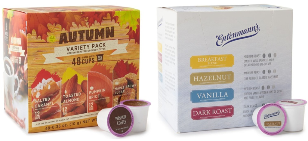 autumn variety mix and entenmann's coffee pods