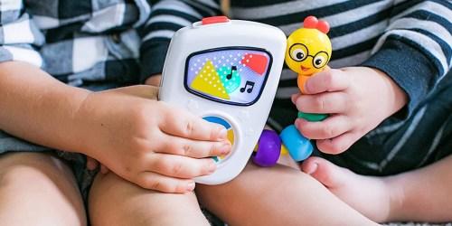 Buy 1, Get 1 50% Off Baby Toys on Amazon | Fisher-Price, Munchkin, Baby Einstein + More