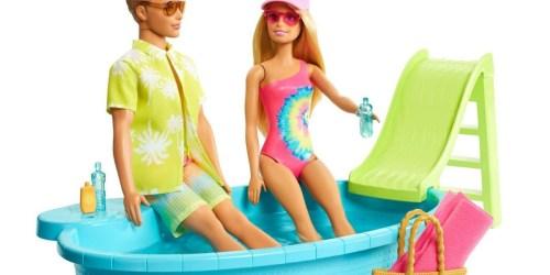 Barbie & Ken Playset Bundle Only $24.99 on Target.com (Regularly $50) | 2 Dolls, Convertible Car, Pool & More