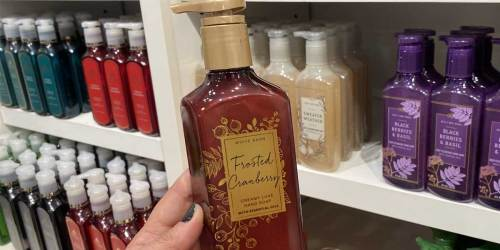 Bath & Body Works Hand Soaps from $2.97 Each | Christmas Scents Available