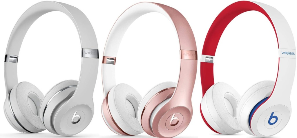 beats by dre solo3 in three colors