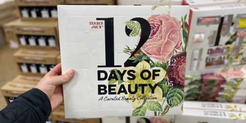 Trader Joe's Beauty Advent Calendar Only $19.99 | Includes 12 Natural Beauty Items
