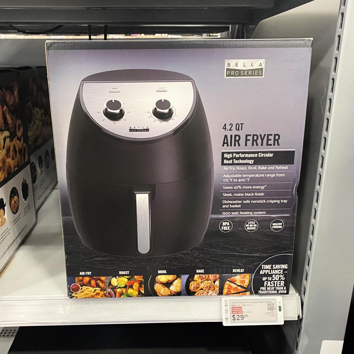 Bella Air Fryer