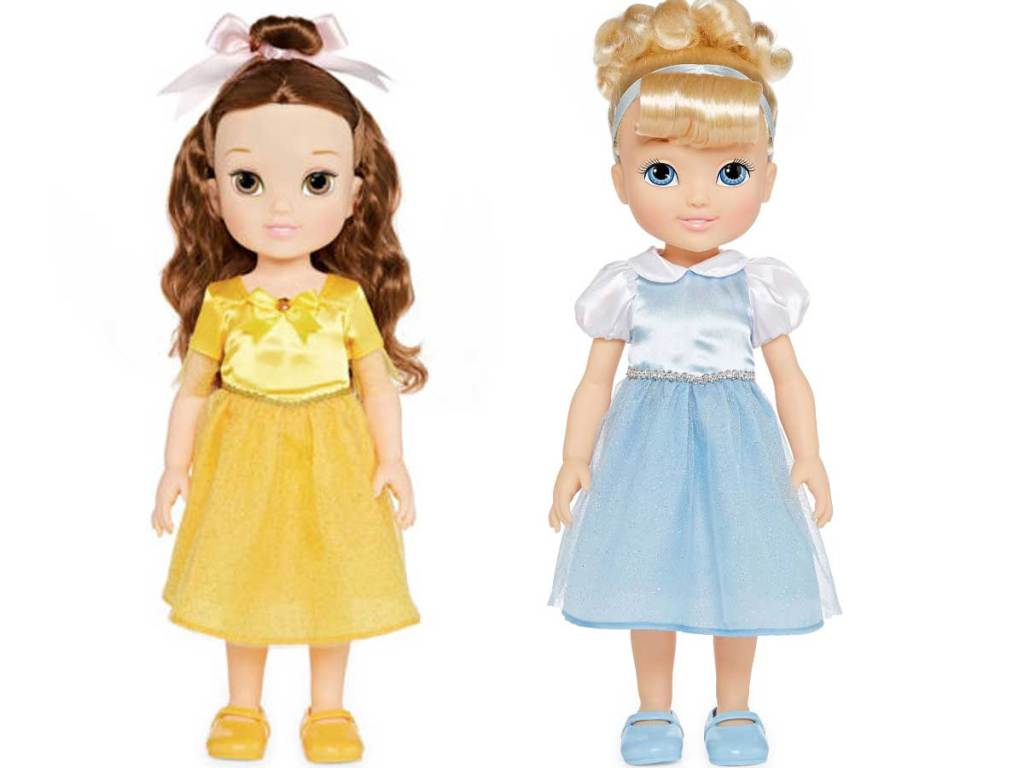 disney princess dolls stock image