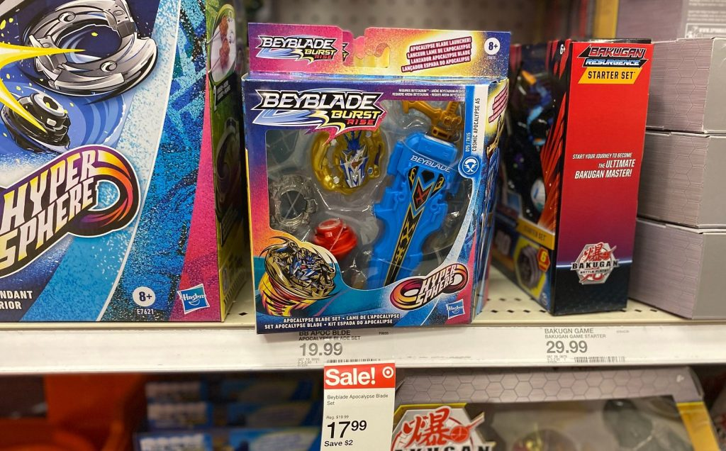 beyblade burst in store at target