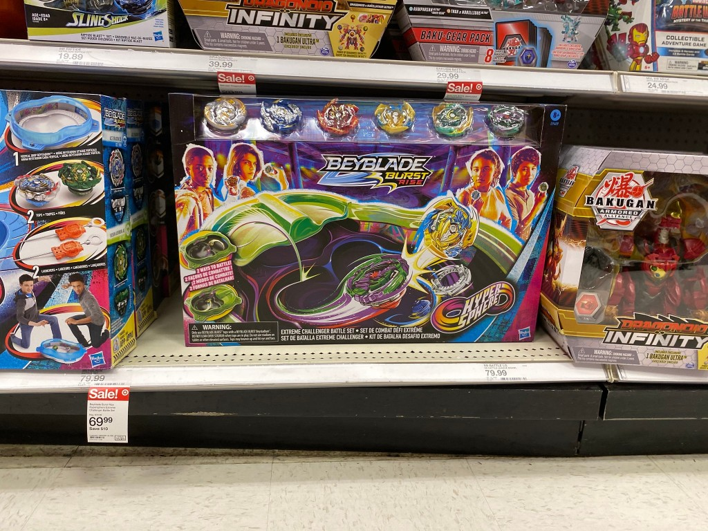 beyblade turbo set in store at target