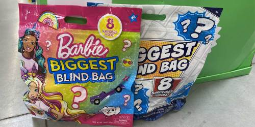 Giant Biggest Blind Bags w/ 8 Surprises Just $10 at Walmart | Mickey Mouse, Barbie, &  More