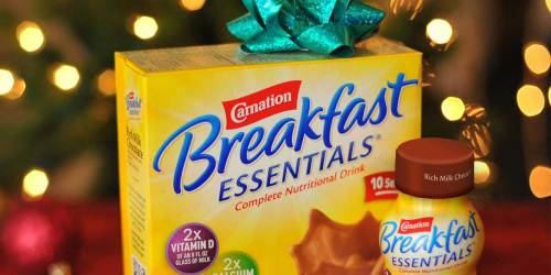 Carnation Breakfast Essentials Packets 22-Count Just $5 Shipped on Amazon