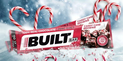 GO! Built Boost 18-Pack, Advent Calendar, & 2 Candy Cane Brownie Built Bars Only $10.88 Shipped