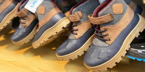 Carter's & OshKosh Shoes Only $11.99 on Kohl's.com (Regularly up to $49)   Black Friday Deal