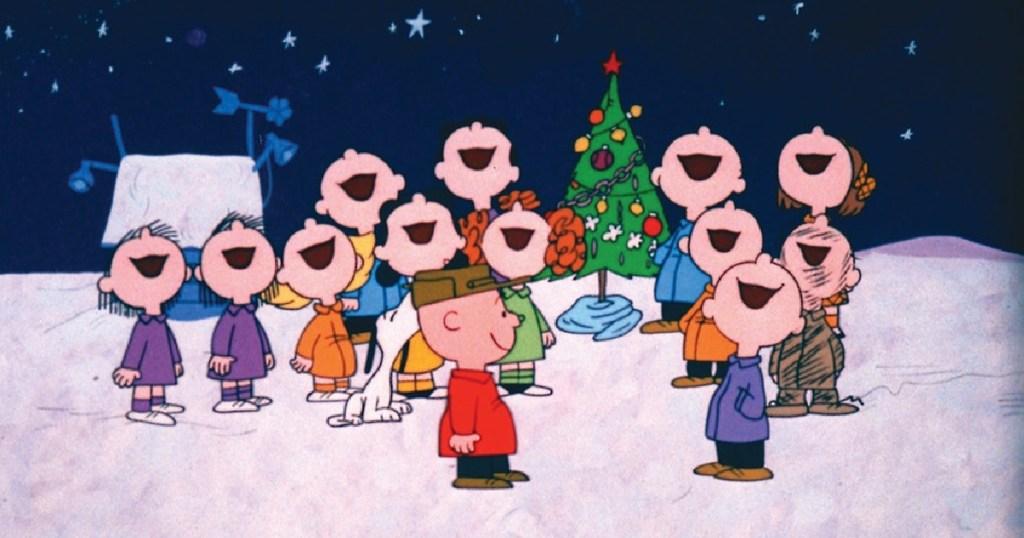 charlie brown christmas illustration