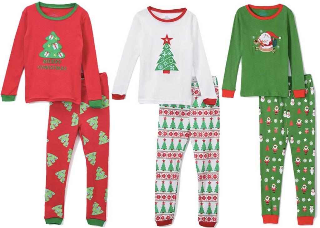 piyama natal anak-anak yang lucu