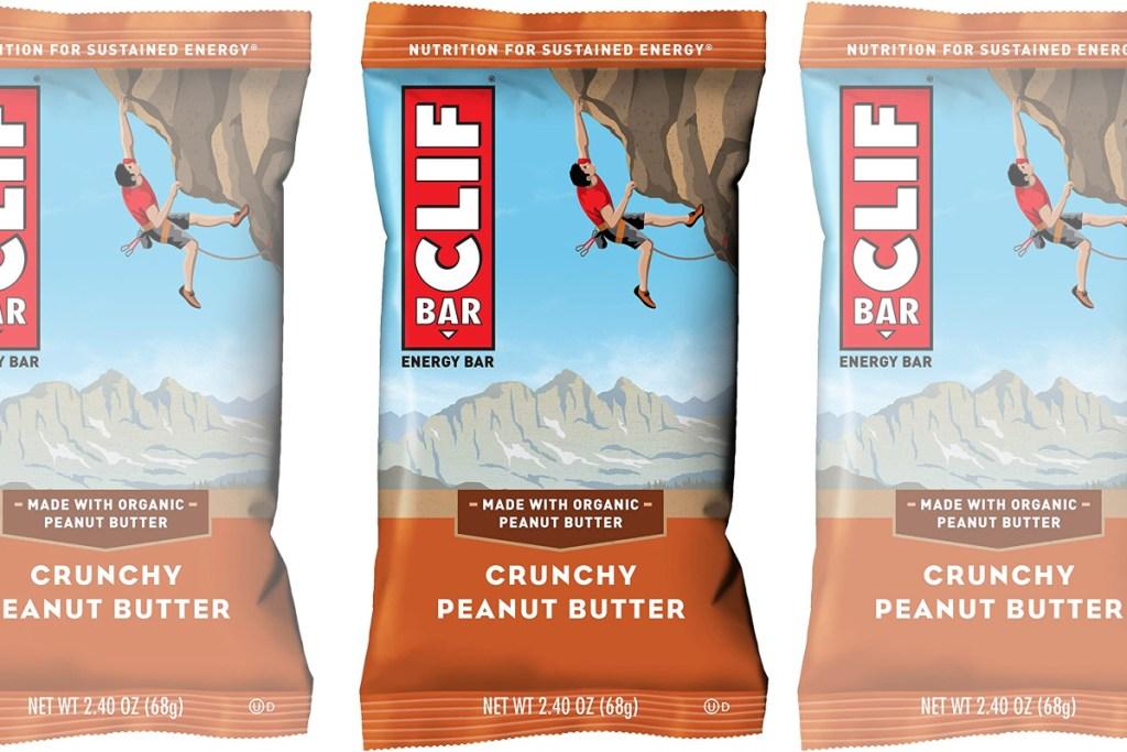 clif bar peanut butter in packaging