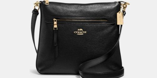 Coach Crossbody Bag $78.72 Shipped (Reg. $328) & Up to 75% Off Totes, Satchels, & More