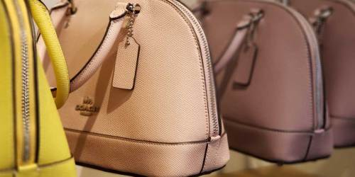 Coach Crossbody and Camera Bags from $68 Shipped (Regularly $228+)