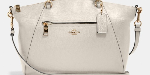 Coach Prairie Satchel Only $98 Shipped (Regularly $328) + 75% Off More Bags & Accessories