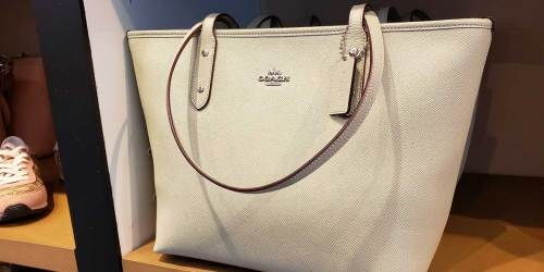 Coach Totes from $83 Shipped (Regularly up to $378) | Great Gift for Mom