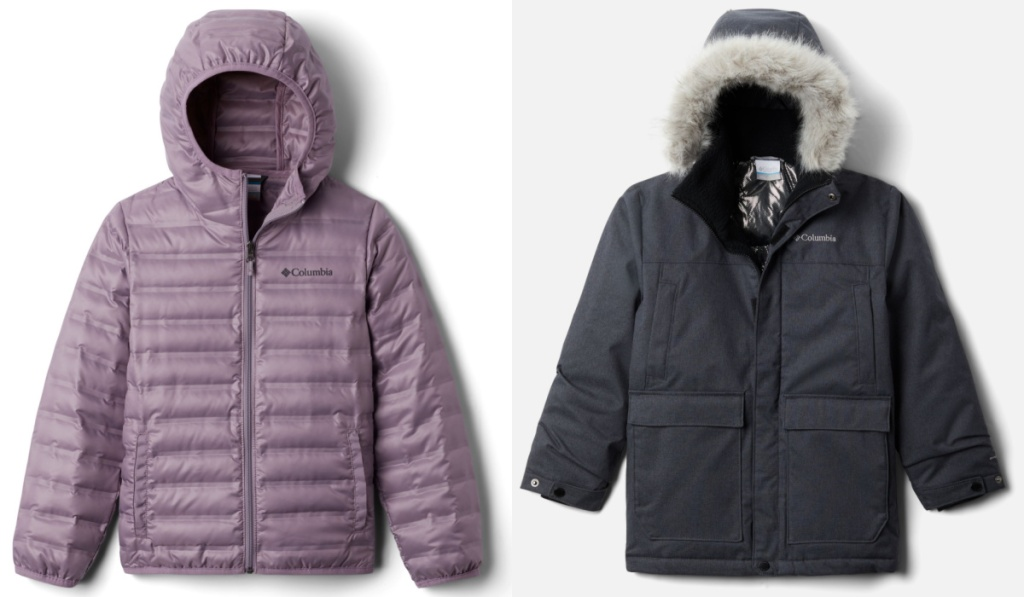 columbia kids jackets puffer and parka