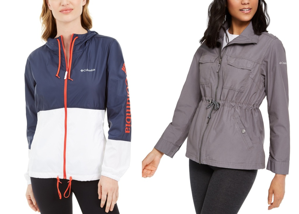 columbia womens jackets on two women